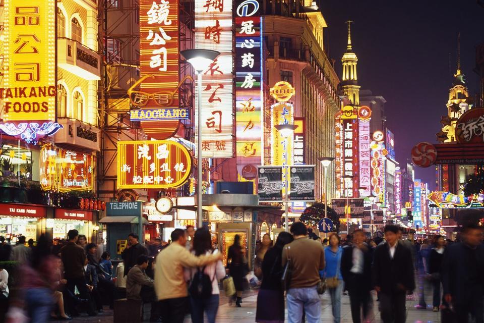 Calle Nankin , China