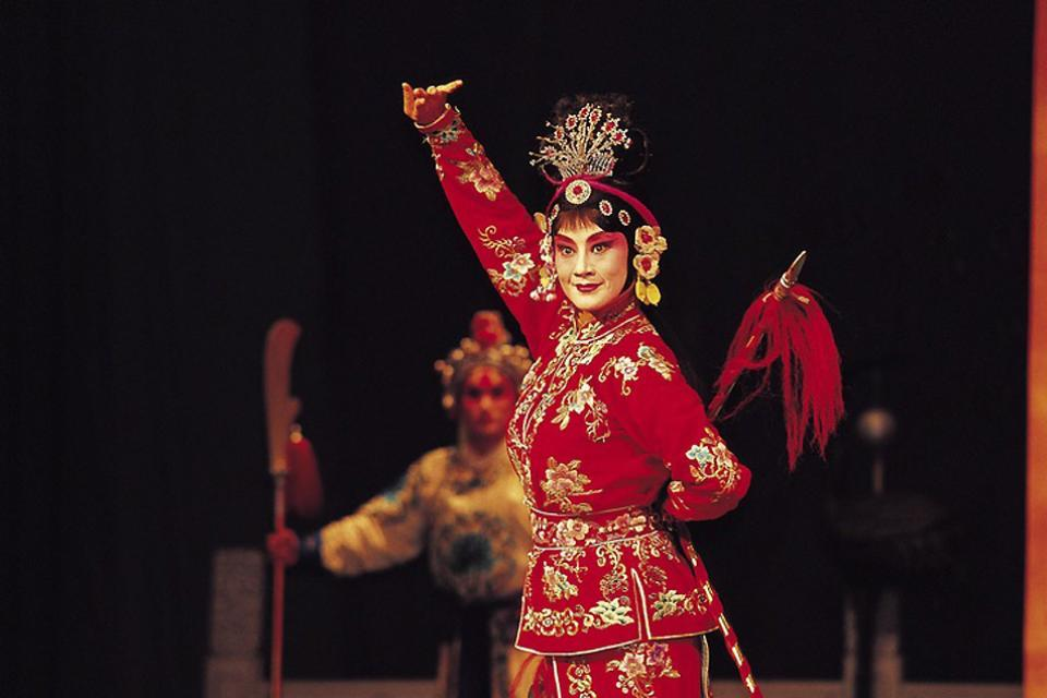 Le théâtre , Opéra traditionnel chinois , Chine