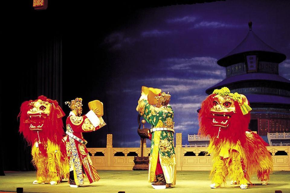 Le théâtre , Une représentation théâtrale à Shanghai , Chine
