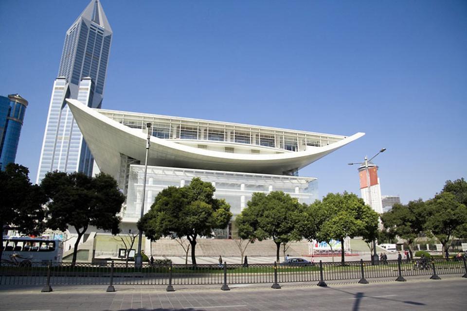 Le théâtre , Le grand théâtre de Shanghai , Chine