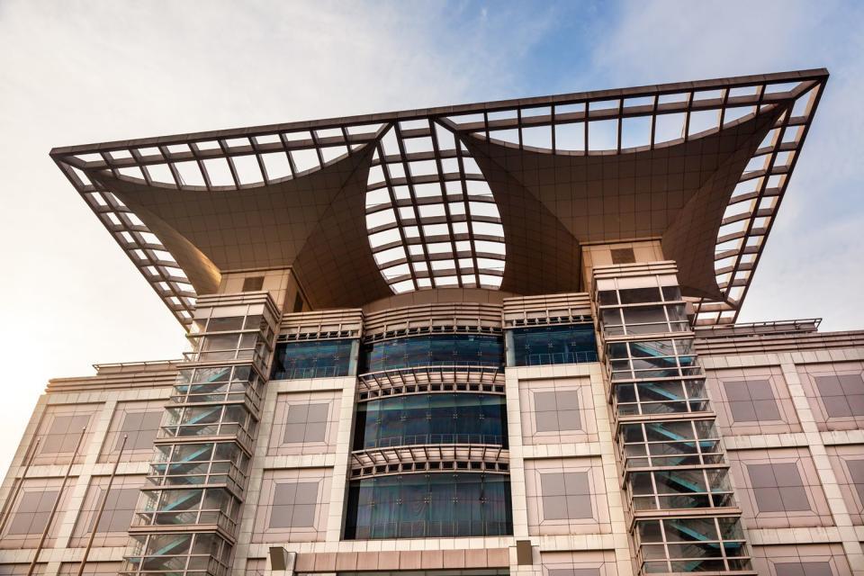 Das Shanghai Urban Planning Museum , China