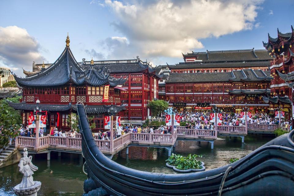 Le jardin yu la province de shanghai chine for Jardin yu shanghai