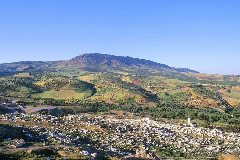 Le Moyen Atlas , Maroc
