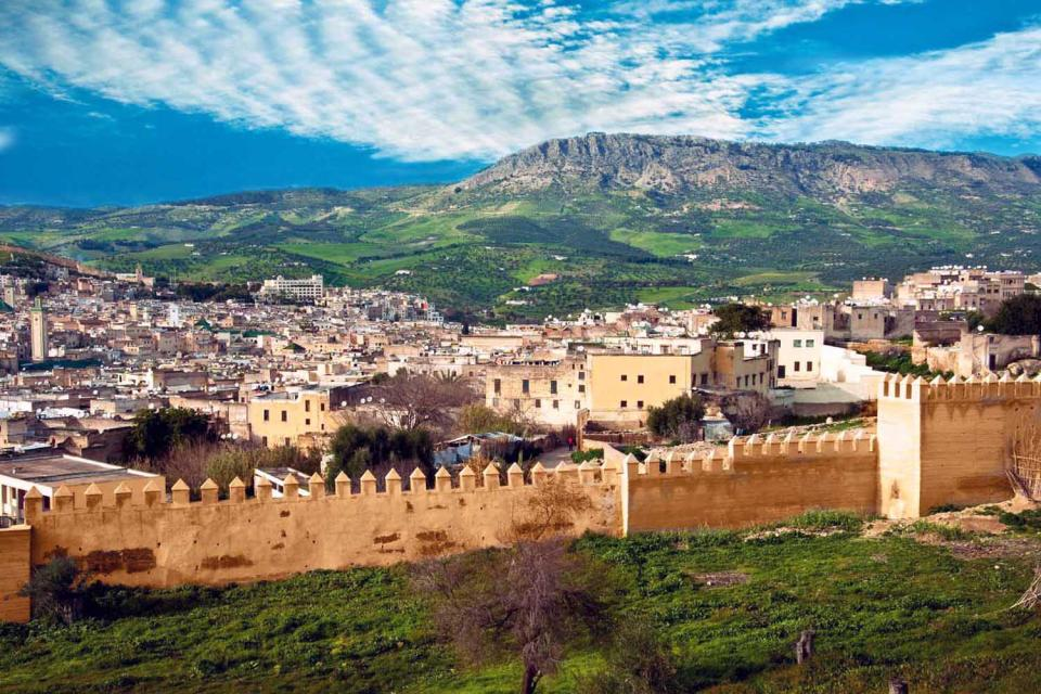 Der mittlere Atlas , ohne Titel! , Marokko