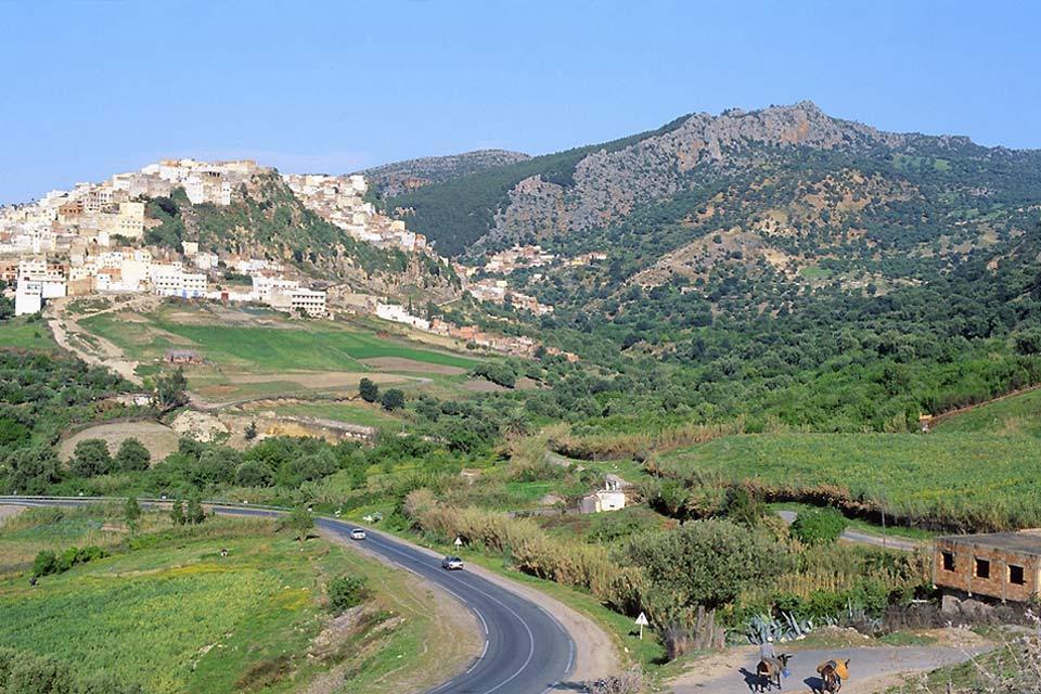 Le Moyen Atlas , Les montagnes du Moyen Atlas, Maroc , Maroc