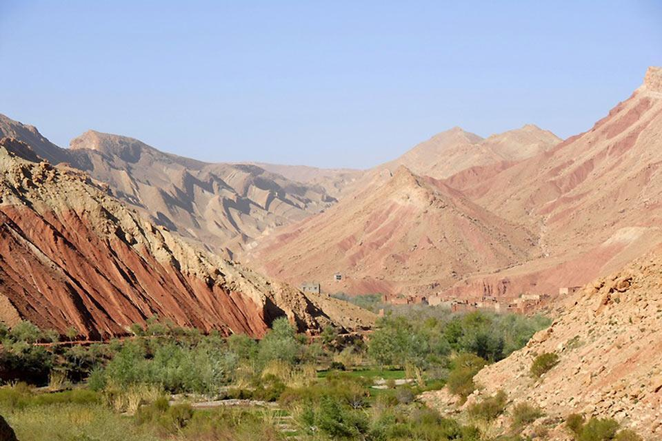 High Atlas , Getting higher... , Morocco