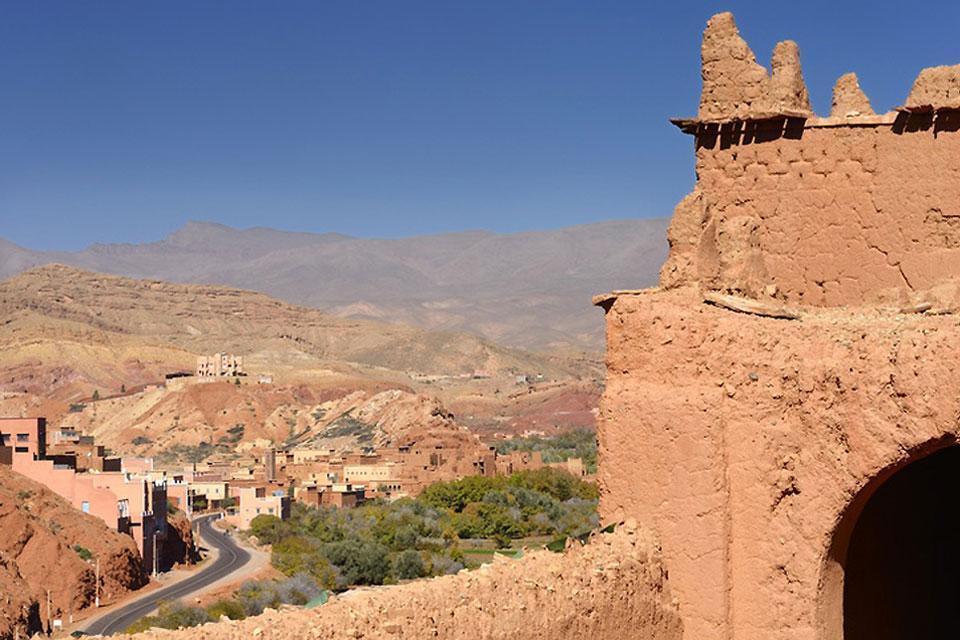 Le Haut Atlas , De casbah en casbah , Maroc