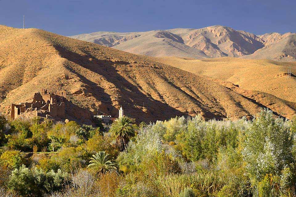 Le Haut Atlas , Randonnée glacée , Maroc