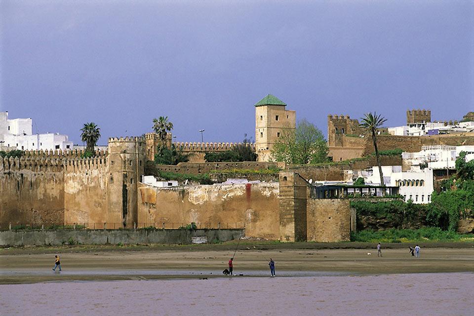 Las playas de Rabat , Marruecos