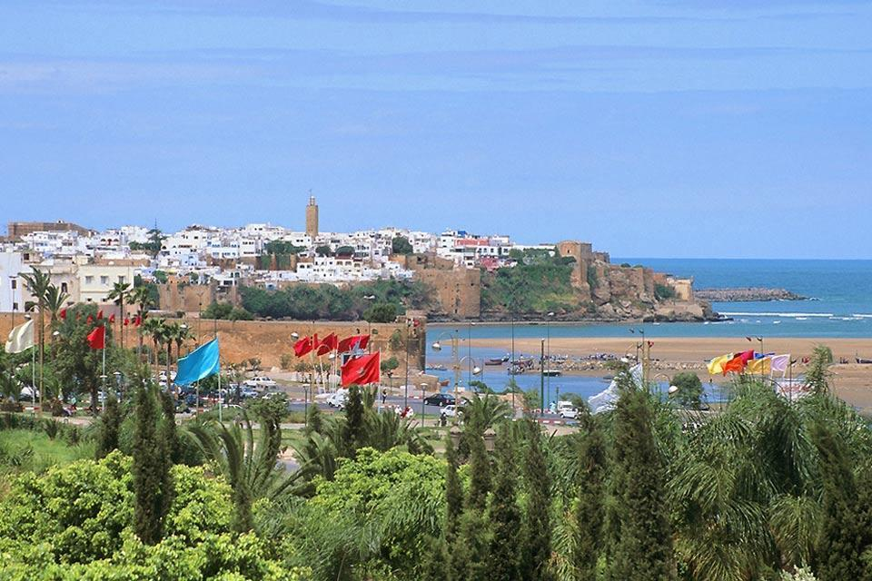 The beaches of Rabat , Twintood , Morocco