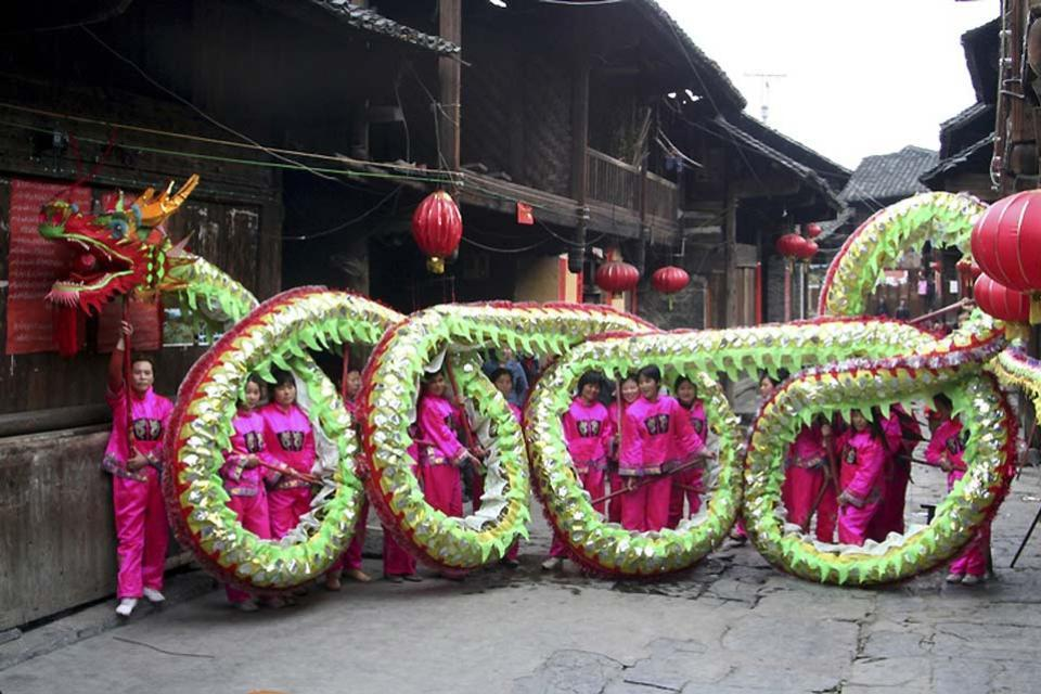Volkskunst , China