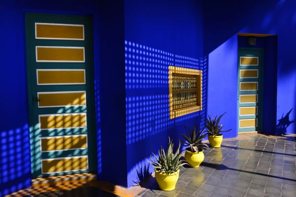 The Majorelle Garden, Arts and culture, Marrakech, Central Morocco