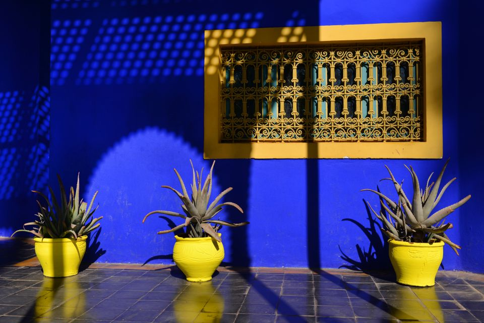 le jardin majorelle maroc le centre maroc. Black Bedroom Furniture Sets. Home Design Ideas