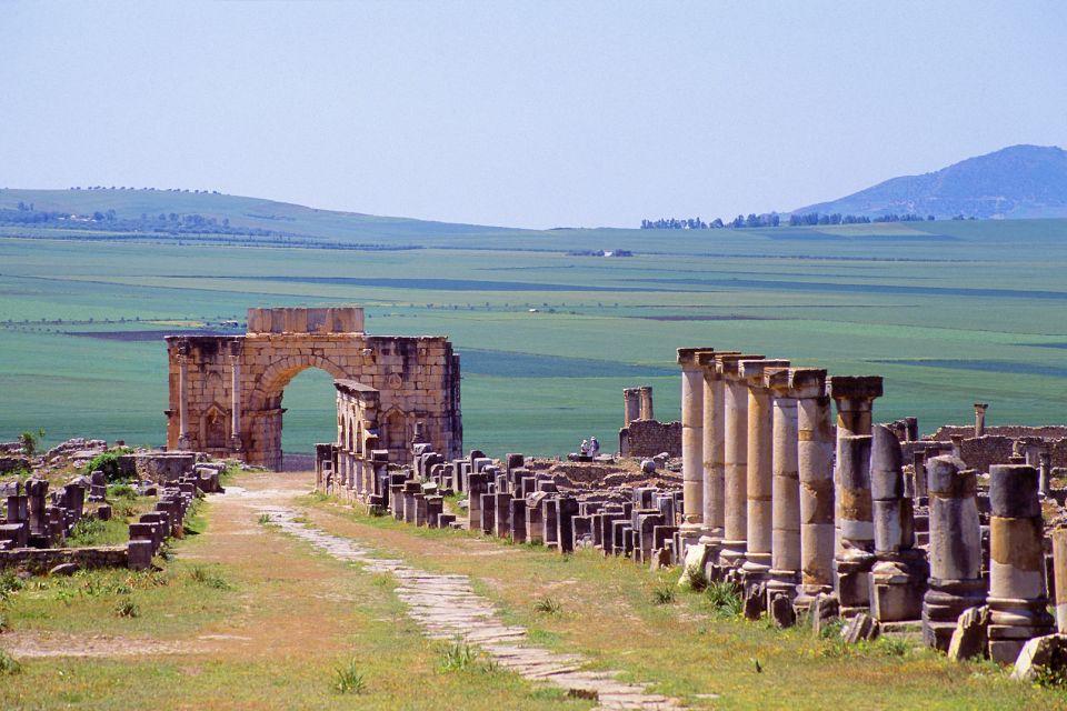 Patrimonio Mundial de la Unesco, Las ruinas de Volubilis, Arte y cultura, Meknes, Marruecos el Centro