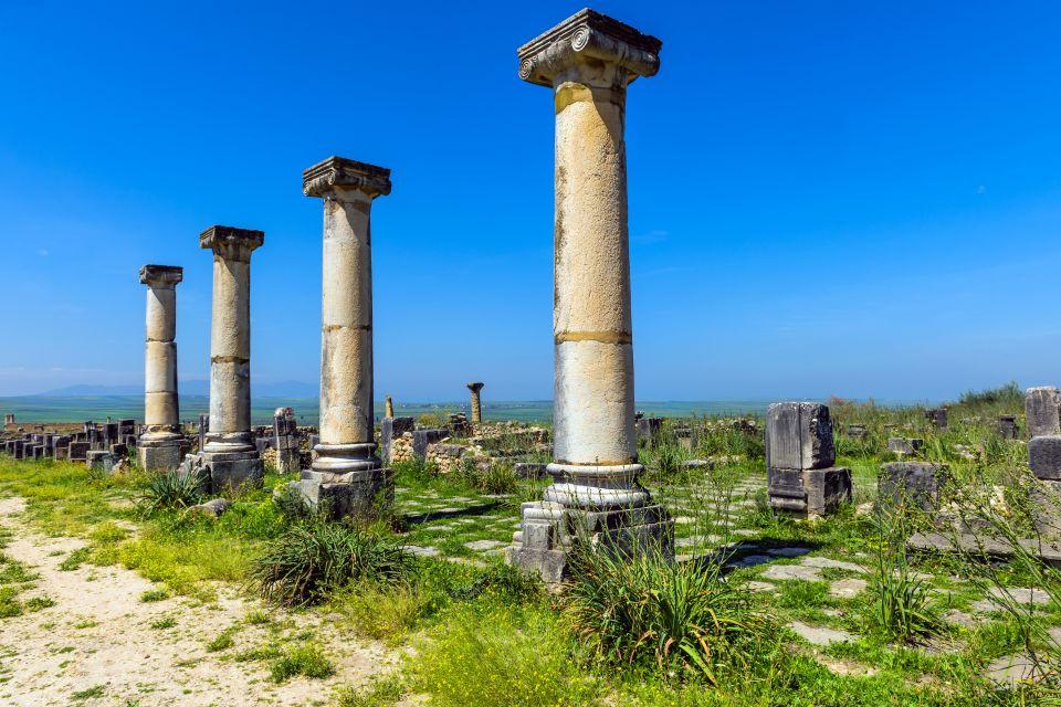 40 hectáreas de ruinas, Las ruinas de Volubilis, Arte y cultura, Meknes, Marruecos el Centro