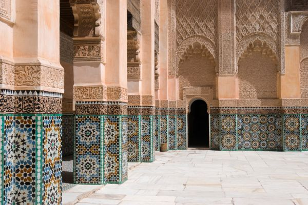 , The Ben Youssef Madrasa, Arts and culture, Marrakech, Central Morocco