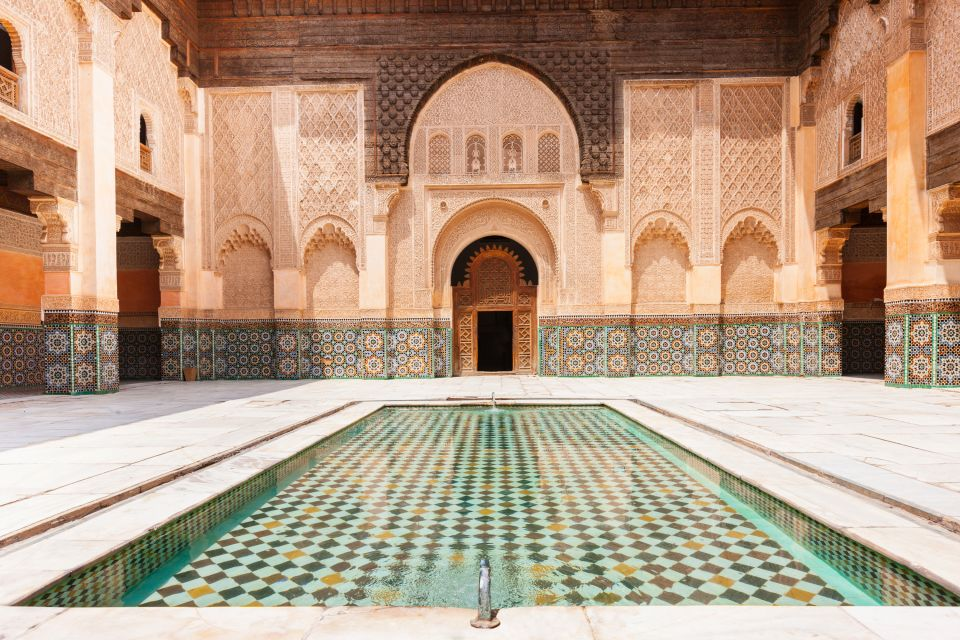 La Madrasa di Ben Youssef, Marrakech, La Médersa Ben Youssef, Le arti e la cultura, Marrakech, Il centro del Marocco