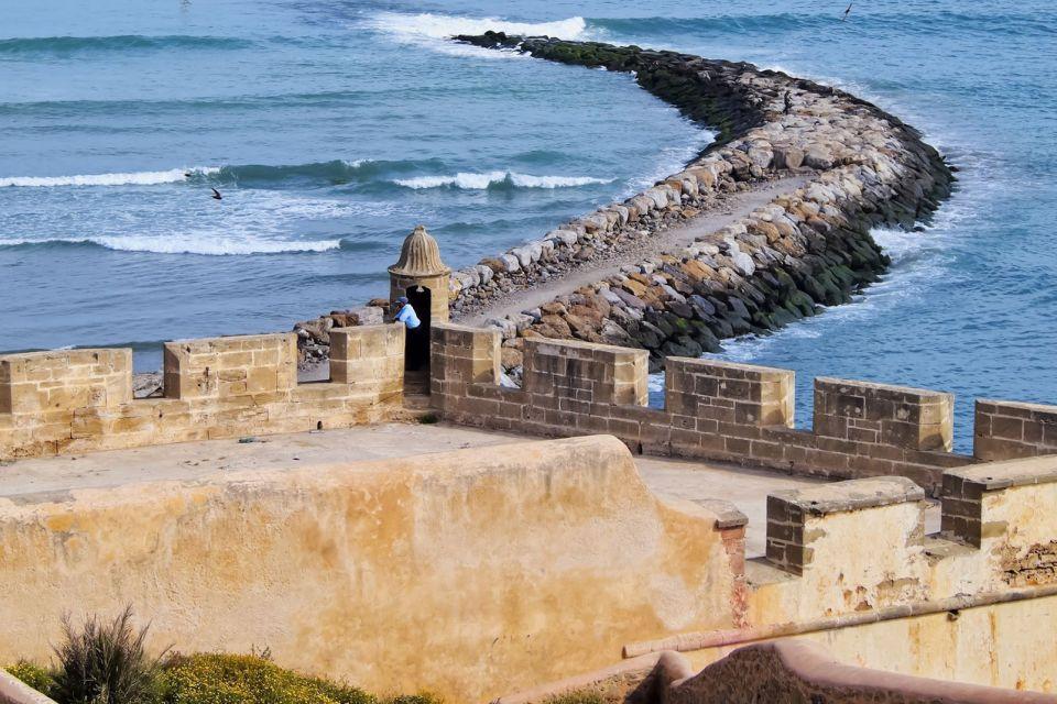La rivière Bouregreg, La Kasbah des Oudayas, Les arts et la culture, Rabat, Maroc-le Centre