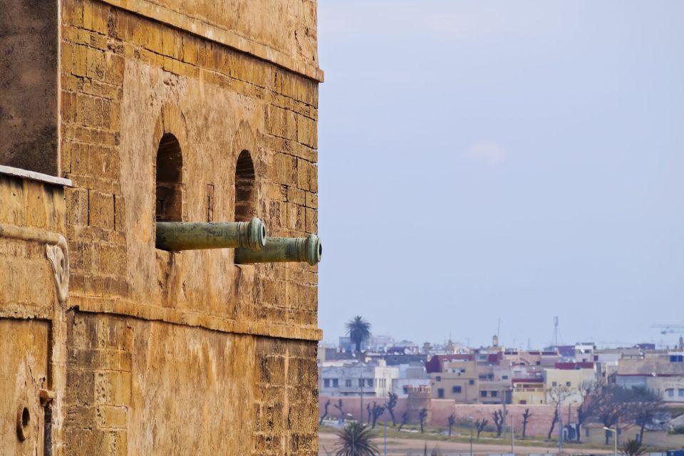Les canons de la Kasbah, La Kasbah des Oudayas, Les arts et la culture, Rabat, Maroc-le Centre