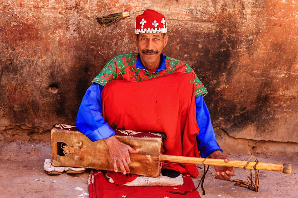 Le danze folkloristiche, Le arti e la cultura, Il centro del Marocco