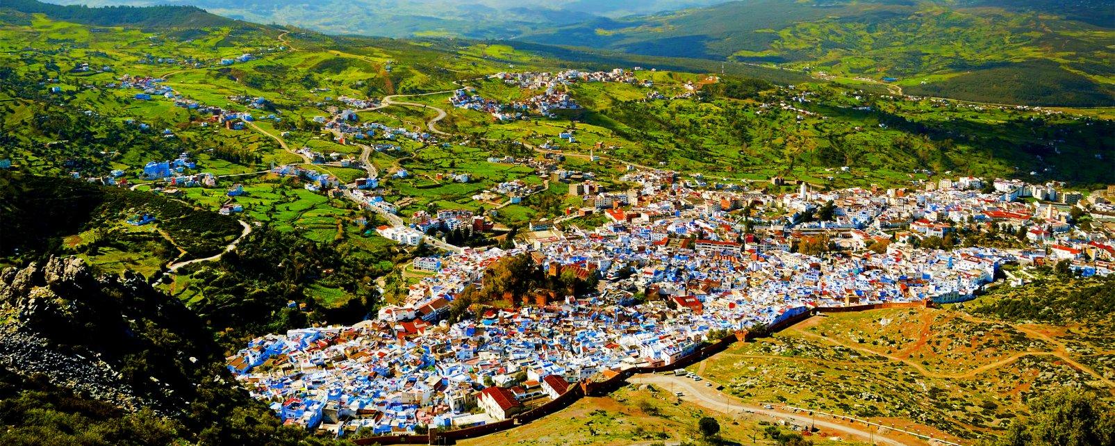 , Le Rif, Los paisajes, Marruecos del Norte