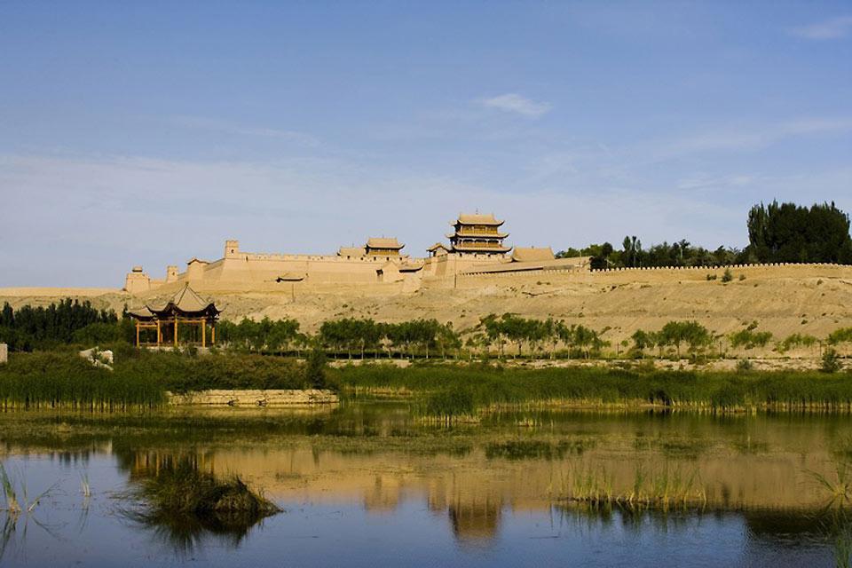 Les oasis , La Grande Muraille de Chine , Chine