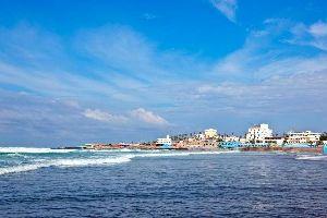La costa atlántica , Marruecos
