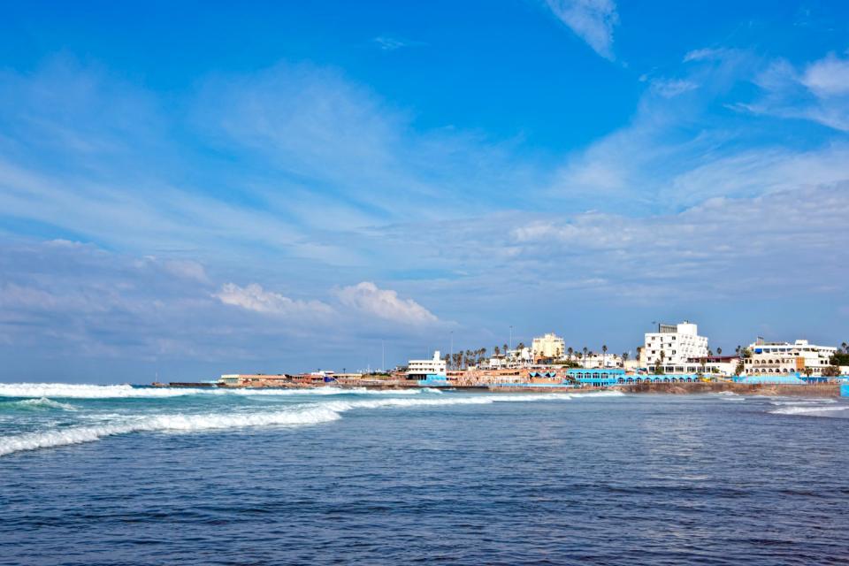The Atlantic coast , Morocco