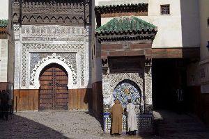 Los museos , Villa Majorelle en Marrakech , Marruecos