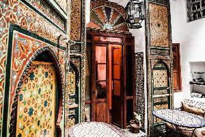 Le musée Dar-Batha de Fès , L'art traditionnel fassi sauvegardé , Maroc
