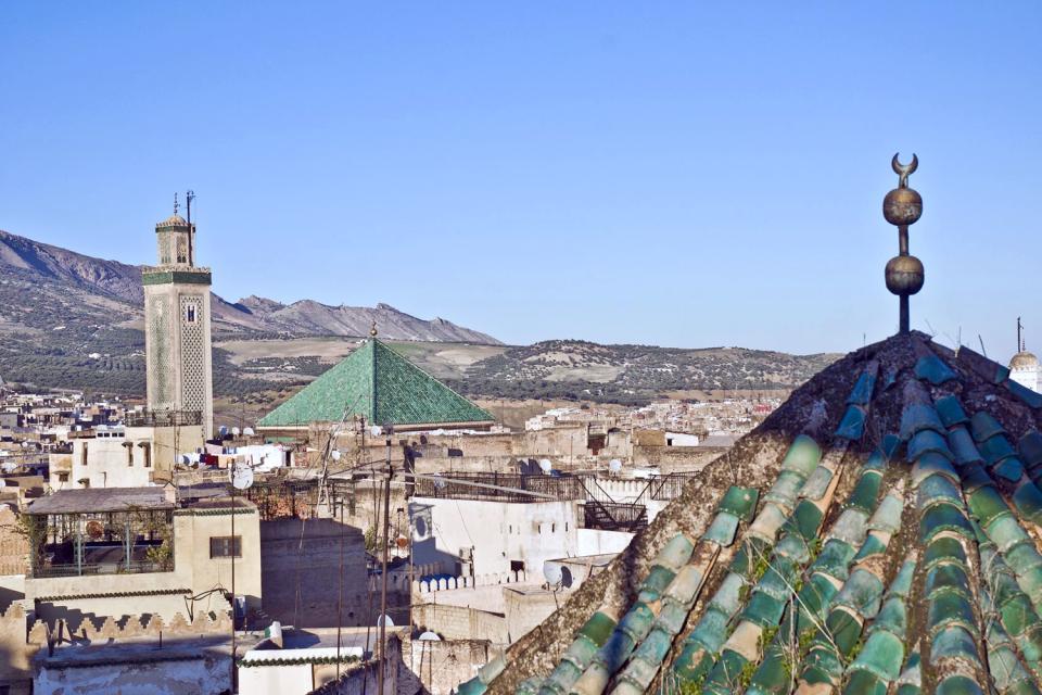 The Al Quaraouiyine Mosque , Morocco