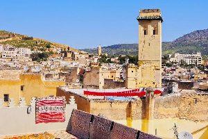 Las casas fasíes , Marruecos