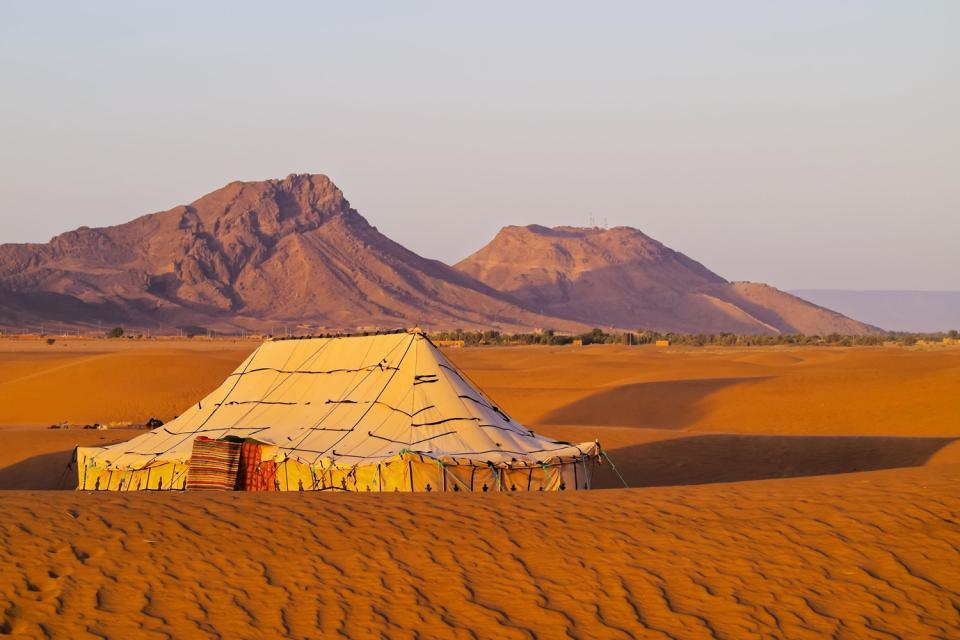 The Sahara , Rock formations , Morocco