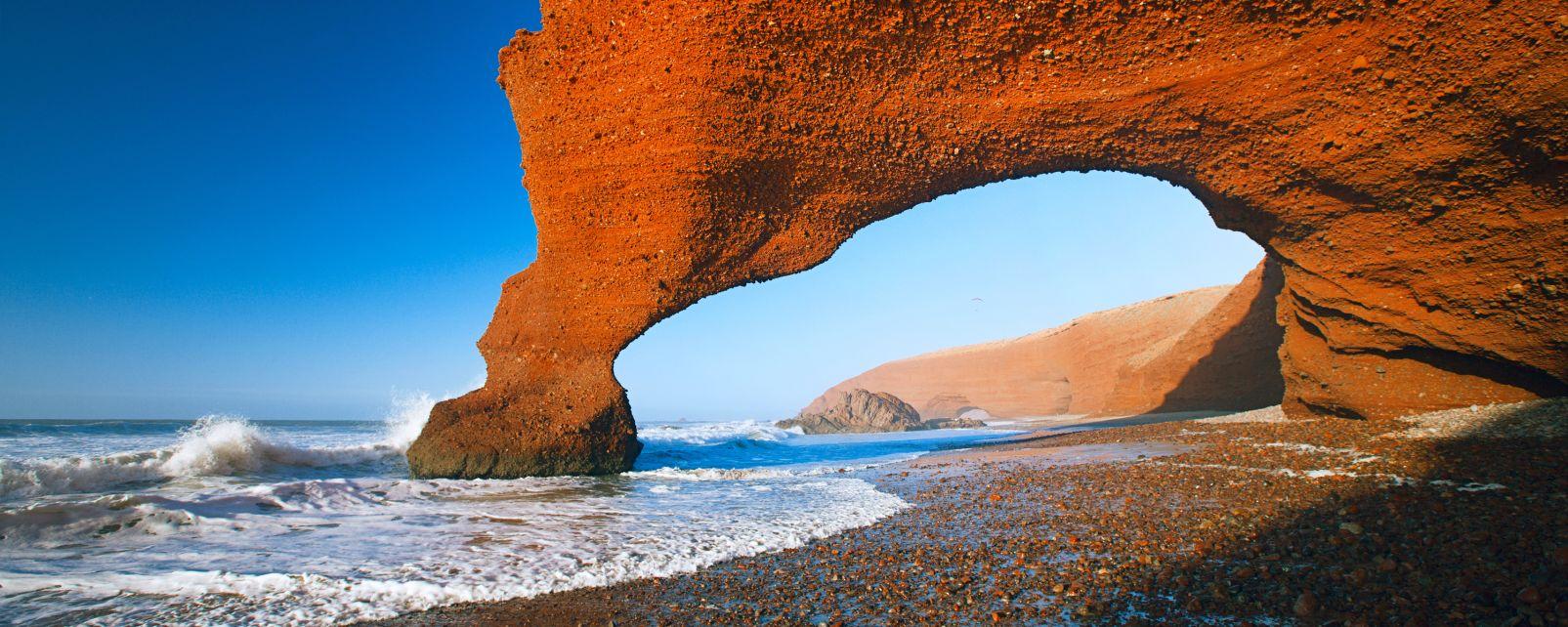 , La côte Atlantique, I paesaggi, Il sud del Marocco