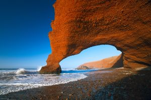 La côte Atlantique , Marruecos