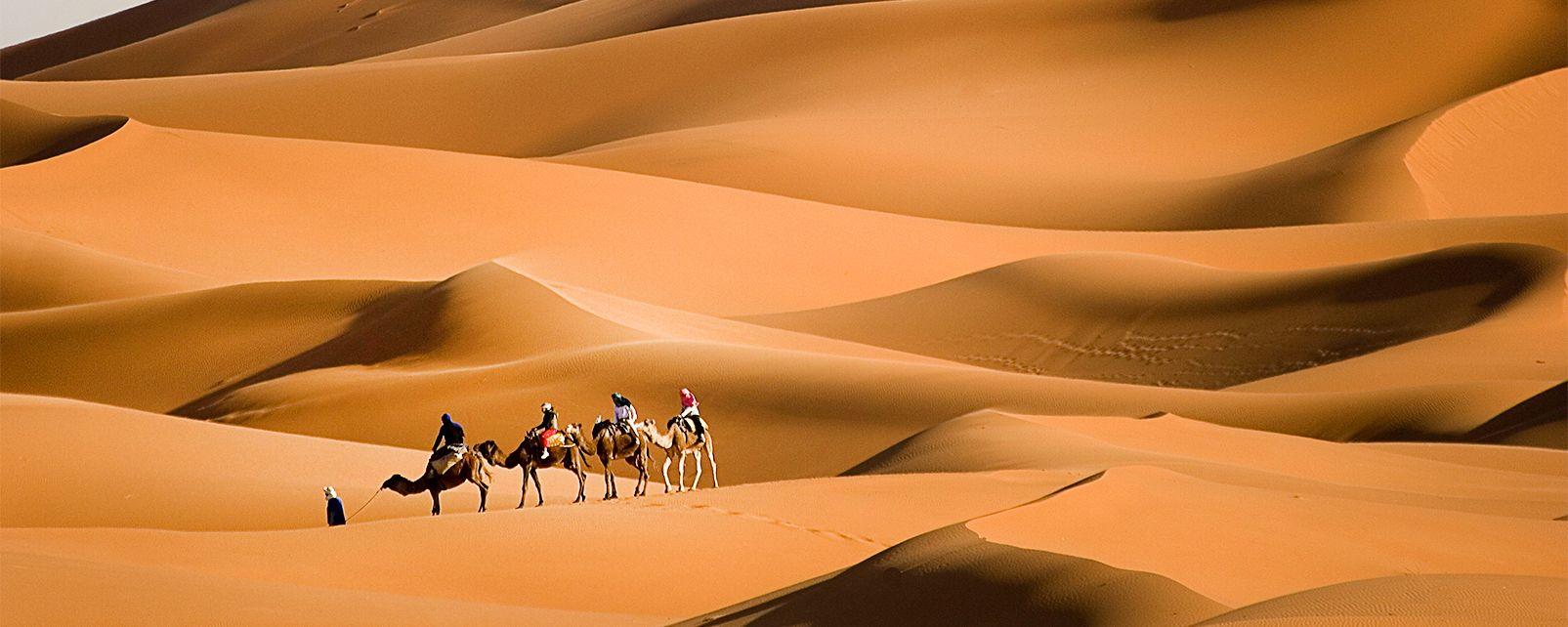 , Trekking nel deserto, Le attività e i divertimenti, Il sud del Marocco
