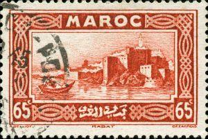 l'aéropostal de Tarfaya , Maroc