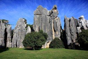 El bosque de piedra de Kunming , China