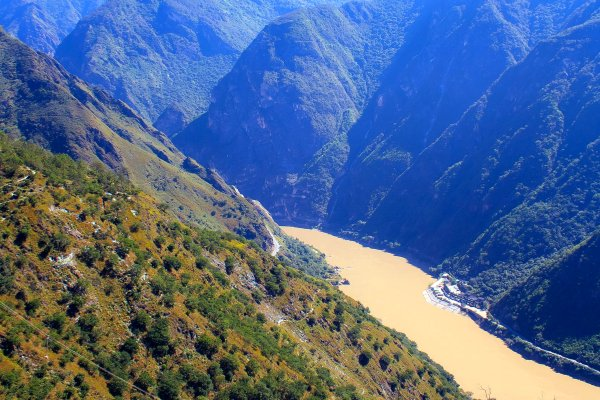 The Tiger Leaping Gorge , China
