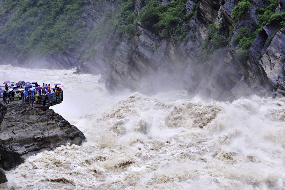 Die Tigersprungschlucht , China
