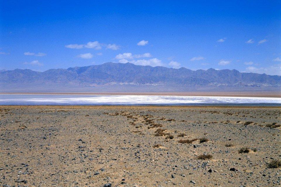 Le lac de Qinghai , Chine
