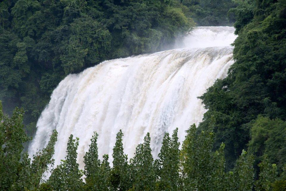 Les chutes de Huangguoshu , Chine
