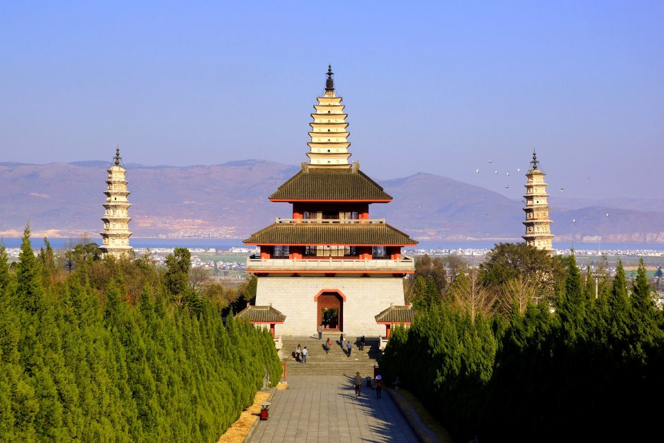 , The Three Pagodas in Dali, Sites, China's Western Provinces