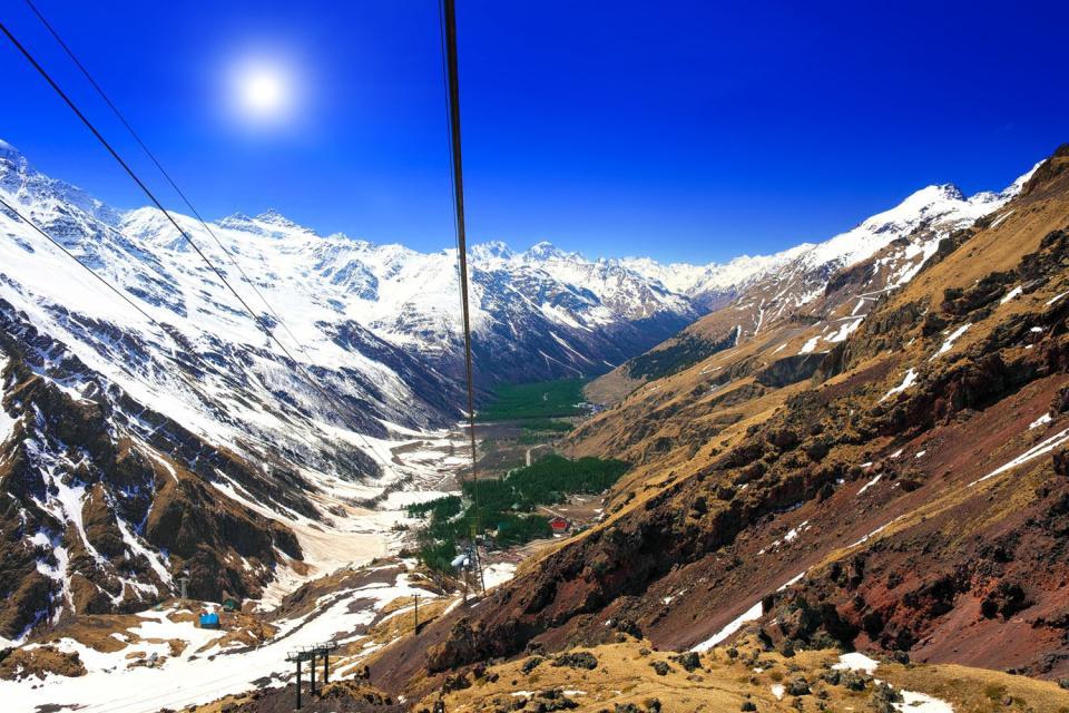 Der Elbrus , Russland