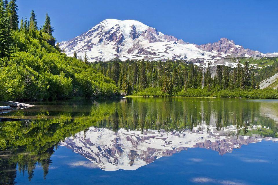 Le Mont Rainier , Etats-Unis
