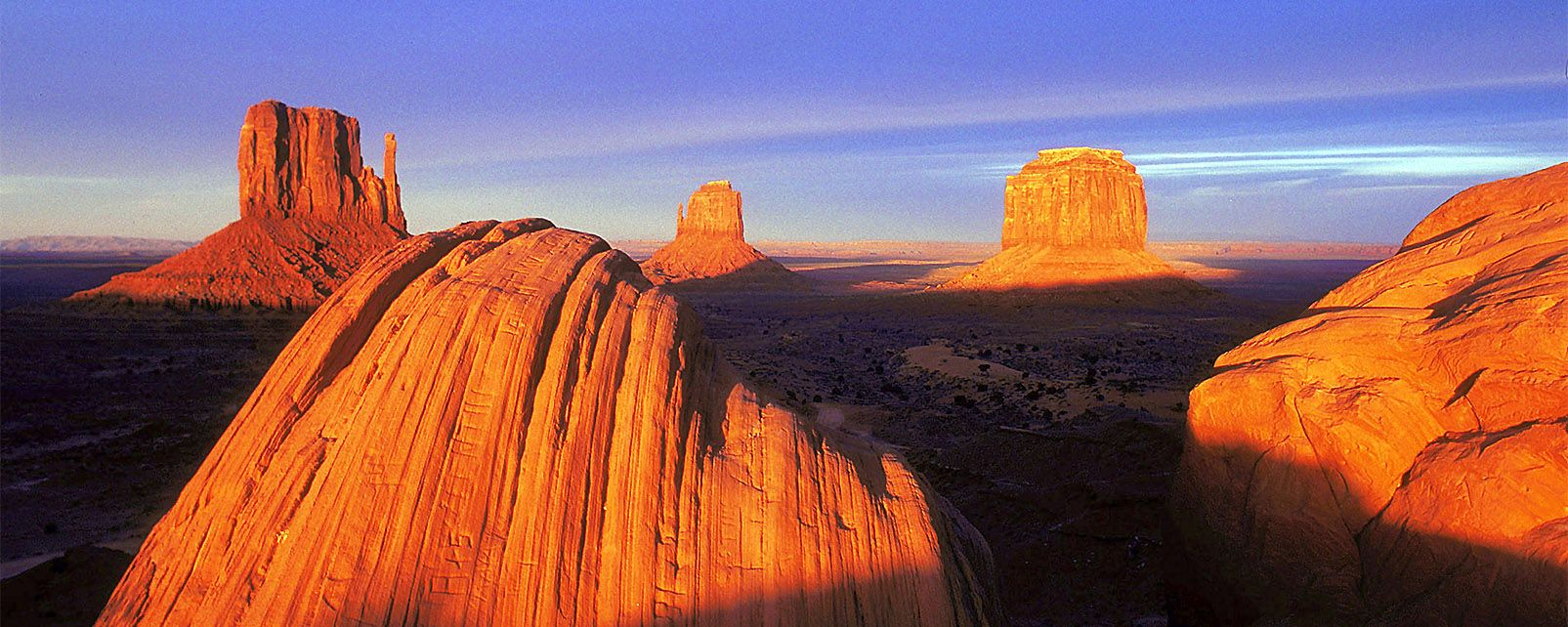 Monument Valley Western Usa United States Of America