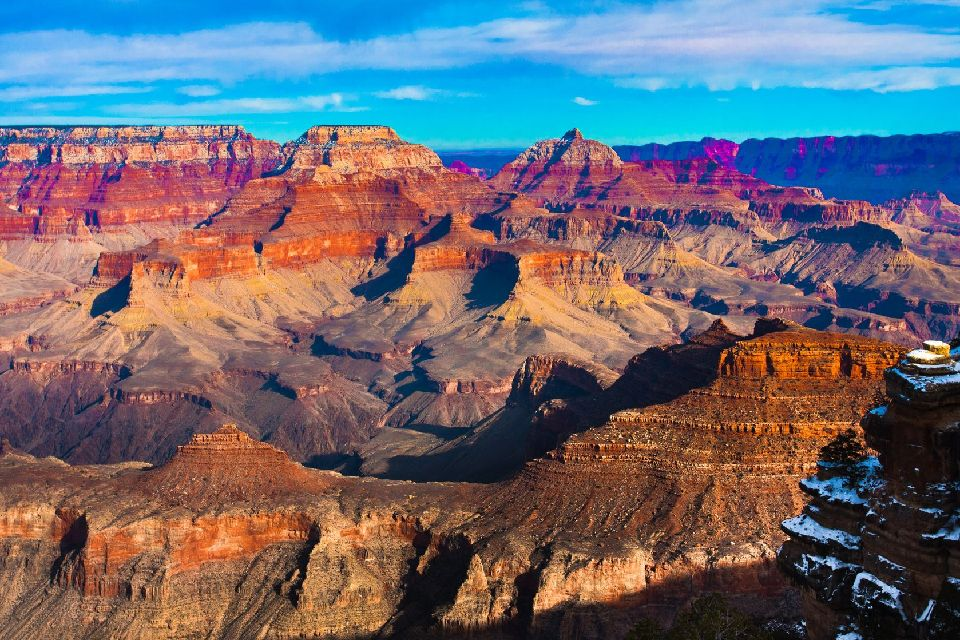 Le parc national du Grand Canyon , Un vrai tableau grandeur nature , Etats-Unis