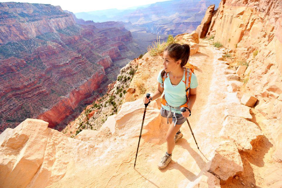 Le parc national du Grand Canyon , Des randonnées à l'infini , Etats-Unis
