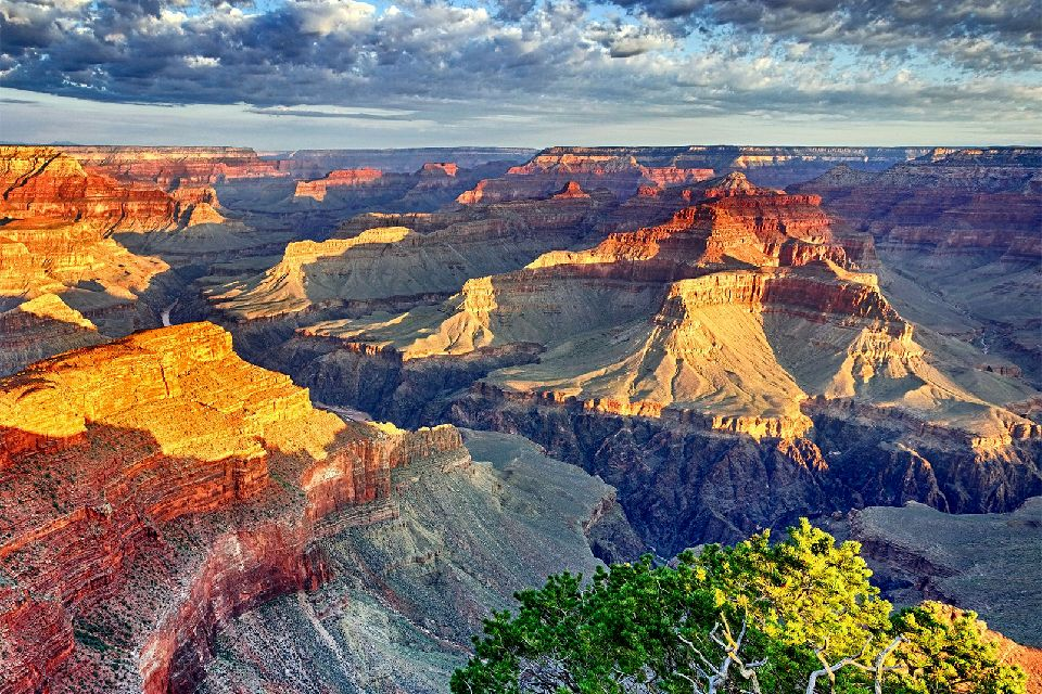 Le parc national du Grand Canyon , Un décor de western , Etats-Unis