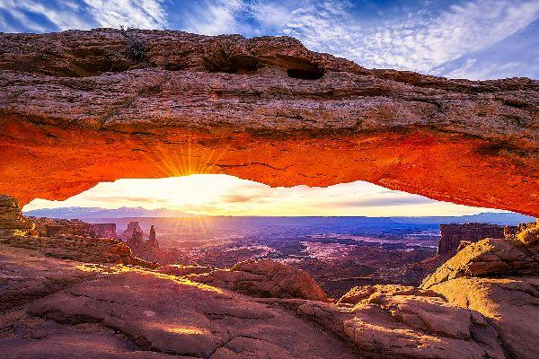 El Parque Nacional de Arcos , Estados Unidos